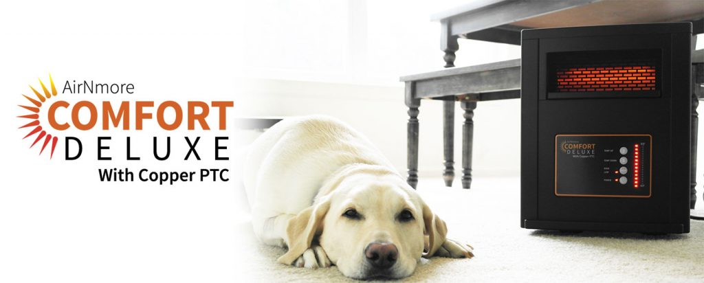 AirNmore Comfort Deluxe with Copper PTC | Pet Safe